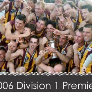 2006 Div 1 Premiers